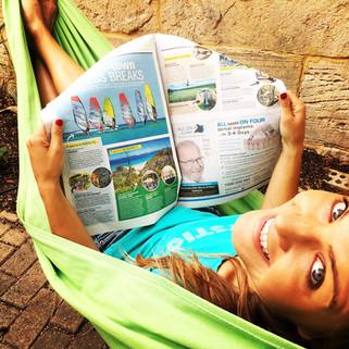 Windsurfing in the Australian Newspaper Lancelin Classic