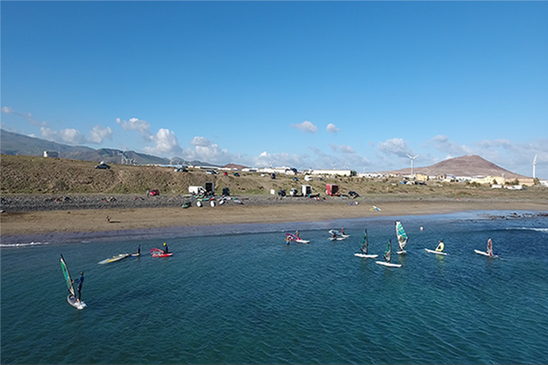 Bahia de Formas - flat water spot