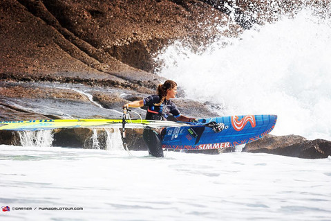Justyna Sniady heading out in Tenerife, El Cabezo