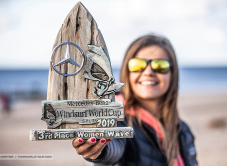Philip and Justyna on podium at PWA World Cup Sylt 2019