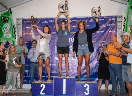 Justyna Sniady comes second in Tenerife and is now leading the PWA Wave World Tour!