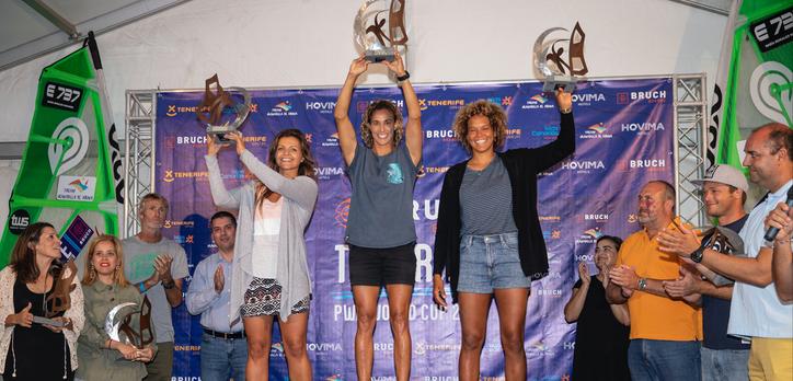 Justyna Sniady 2nd in PWA Tenerife