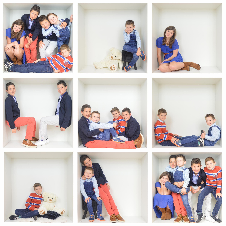 familieportret bewerkt