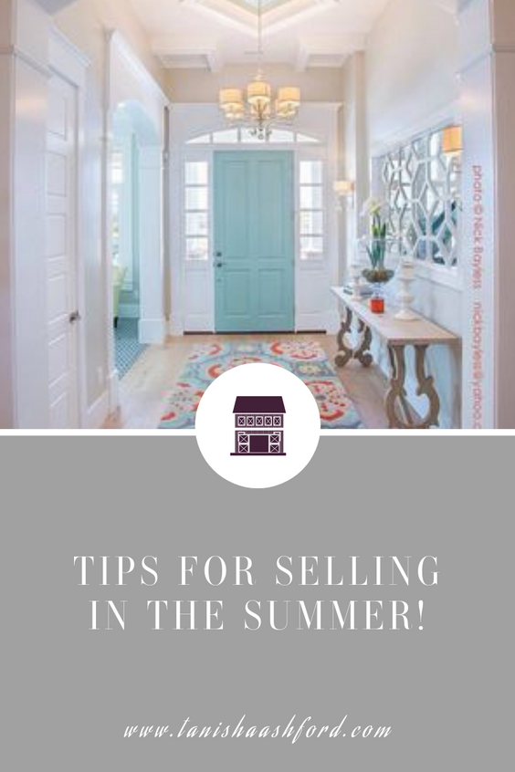 TIPS FOR SELLING IN THE SUMMER