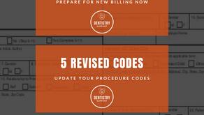 2020 CDT Code Changes