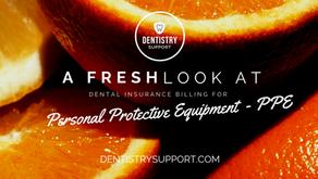 Dental Insurance Billing for PPE