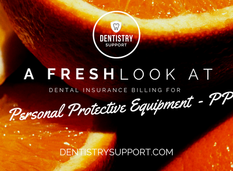 Dental Insurance Billing for PPE