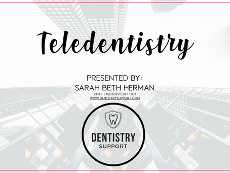 Teledentistry Webinar Replay