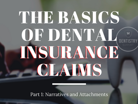 The Basics of Dental Insurance Claims