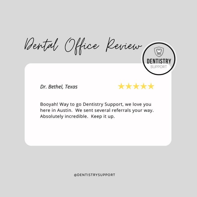 Dentistry Support Reviews
