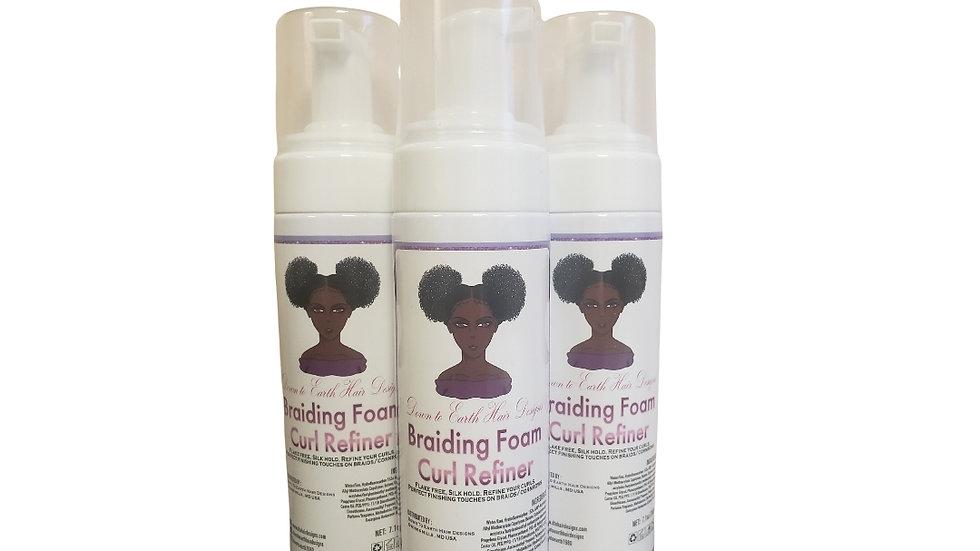 Braiding Foam Curl Refiner
