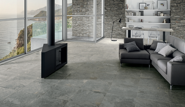 la fabbrica italy gry porcelain tile non-slip grip outdoor patio keystone products limited barbados