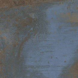 flatiron-min-blue 24x24 porcelain floor tile rustic metallic blue brown Italy quality Energie Ker keystone products Barbados