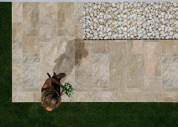 Ceramica Valsecchia Italy Porcelain Quartzite Rust modern tile keystone products Limited Barbados colour body quality outdoor tile non-slip grip textured