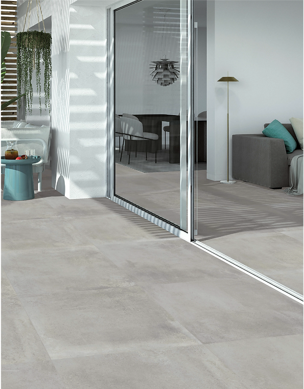 Madox Gris porcelain tile cement look spain mate modern keystone products limited barbados