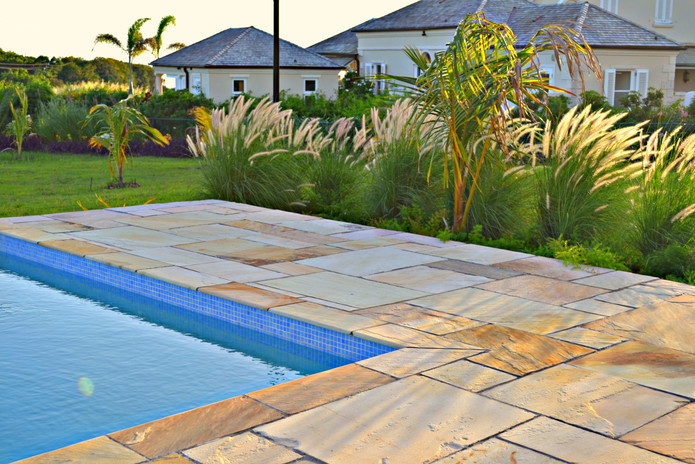 Tiles Used: HIMALAYAN SANDSTONE