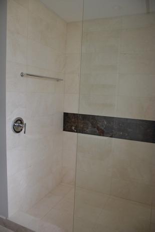 Tiles Used: BIANCO TRAVERTINE