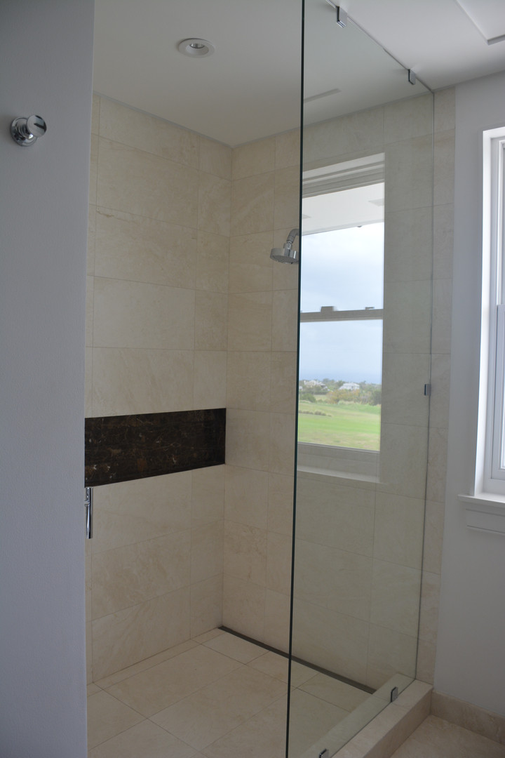 Tiles Used: BIANCO TRAVERTINE