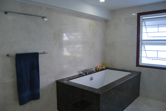 Tiles Used: POLISHED MARBLE
