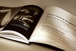 Book open with pages