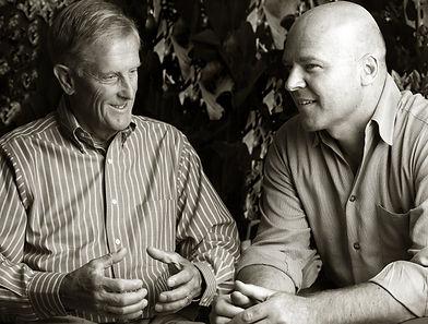 Jurgen Moller and Client sitting down