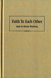 Faith to each other Book cover