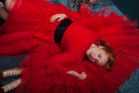 'POWER OF RED' EDITORIAL DE MODA BY SARA IGLESIAS.
