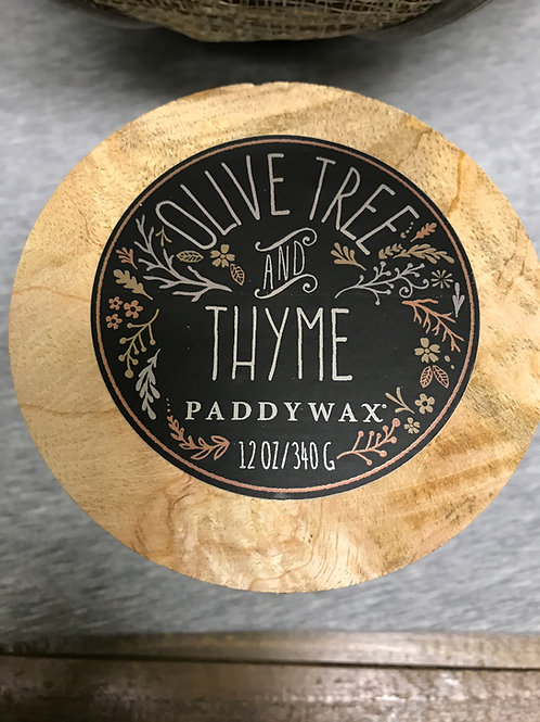Olive Tree and Thyme 12oz $30.00