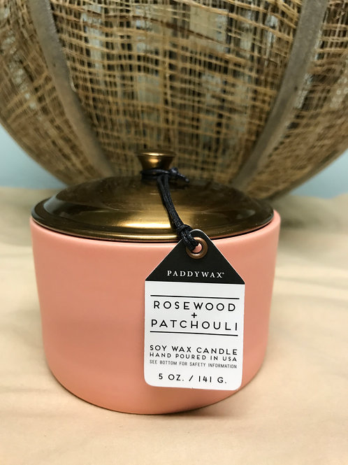 Rosewood and Patchouli 5 oz $17.00