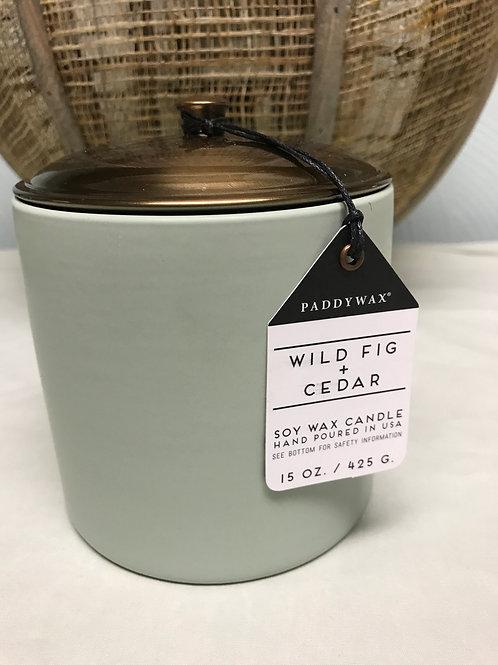 Wild Fig and Cedar 15 oz $30.00
