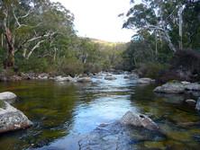 Thredbo River upstream of Lake Jindabyne