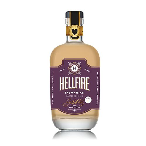 Hellfire Bluff Barrel Aged Gin