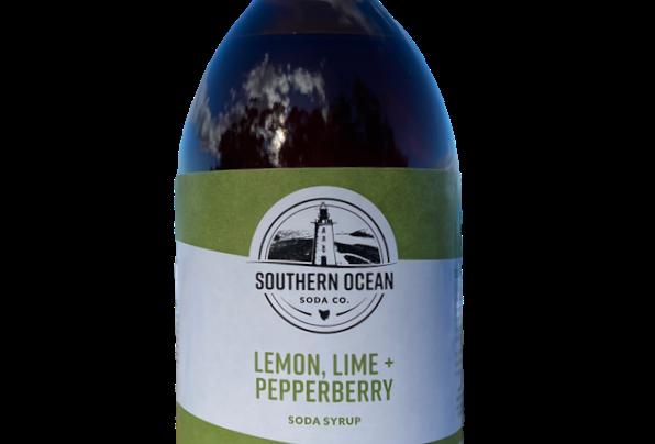 Lemon, Lime + Pepper Berry Soda Syrup