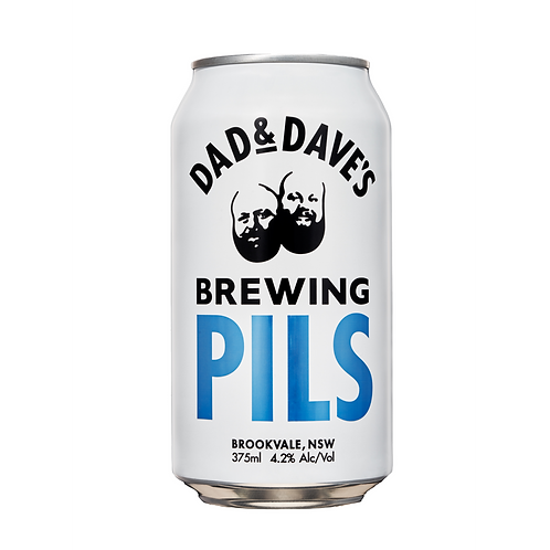 Dad & Dave's Brewing Pils