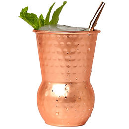 400ml Hammered Copper Plated Moscow Mule Mug