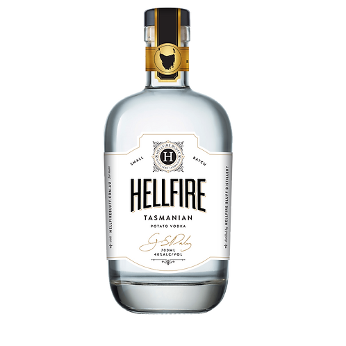 Hellfire Bluff Potato Vodka