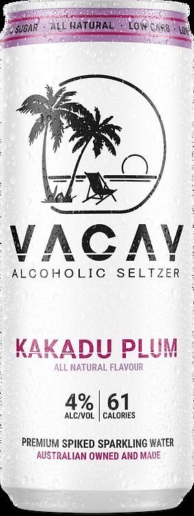 Vacay Seltzer Kakadu Plum 16x330ml Case
