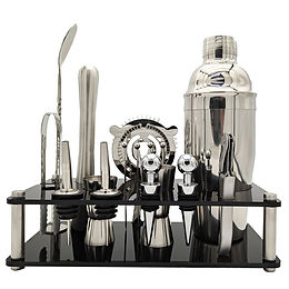 15-Piece Bartender Kit with a Stand