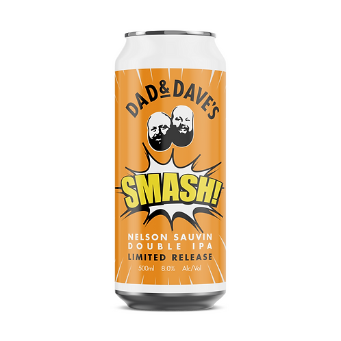Dad & Dave's Brewing SMASH Nelson Sauvin Double IPA