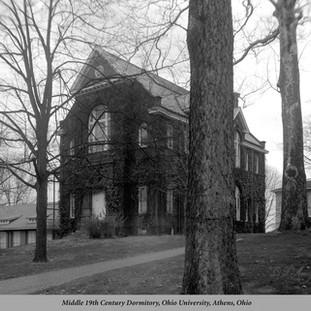 Middle 19th Century Dormitory, Ohio University, Athens, Ohio