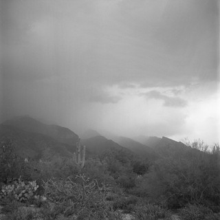 Rolling Clouds in the Catalinas