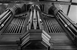 Organ Pipes Rooster Church.1