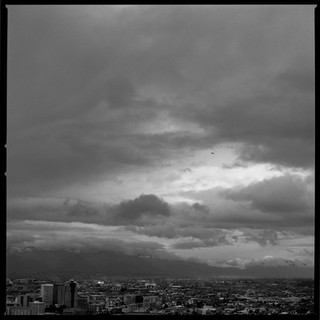 Clouds over downtown Tucson, MAr 2019, I