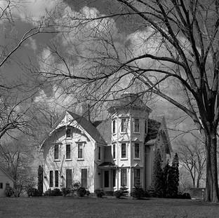 Rural Victorian Mansion near Hudson, Ohio