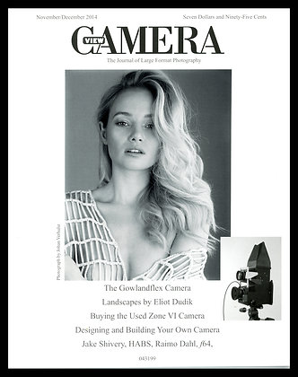View Camera magazine, November and December 2014