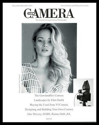 View Camera magazine, November and December 2014