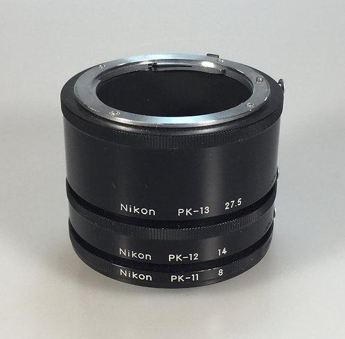 Lot #4 - Nikon extension tube set