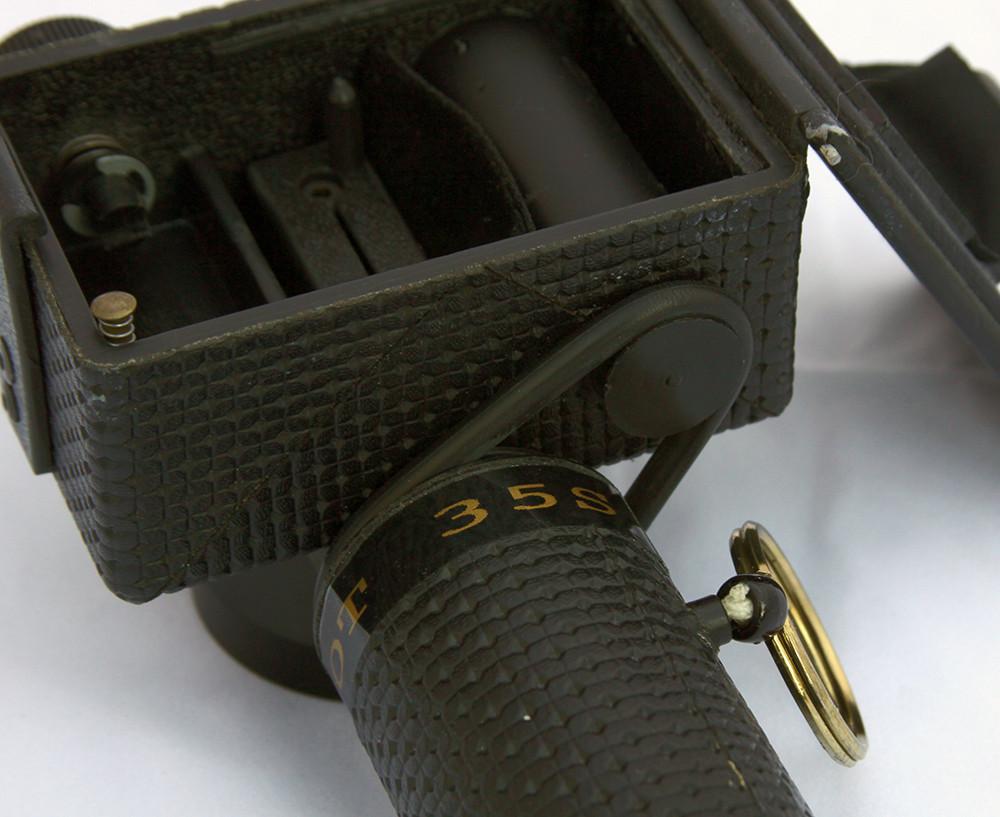 SpinShot 35s panoramic camera - bottom view of belt drive