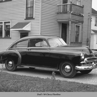 Dad's '49 Chevy Fleetline