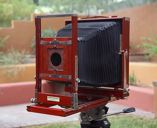 Improved Seneca View 8x10 large format camera